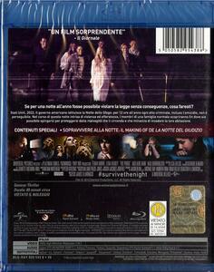 La notte del giudizio di James DeMonaco - Blu-ray - 2