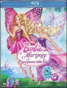 Barbie Mariposa e la principessa delle fate di William Lau - Blu-ray