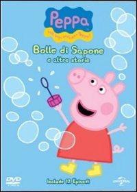 Cover Dvd Peppa Pig. Bolle di sapone e altre storie (DVD)