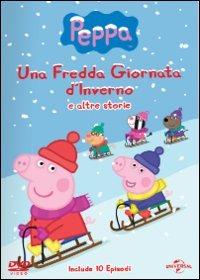 Cover Dvd Peppa Pig. Una fredda giornata d'inverno e altre storie (DVD)