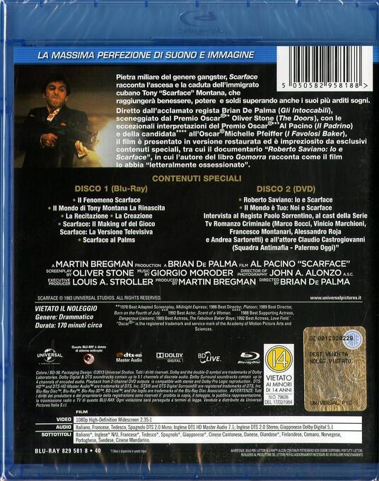 Scarface (DVD + Blu-ray) di Brian De Palma - DVD + Blu-ray - 2