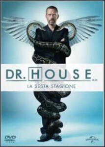 Dr. House. Medical Division. Stagione 6 (6 DVD) - DVD