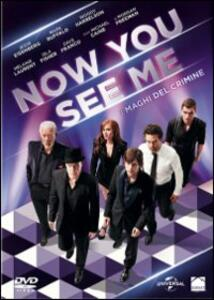 Now You See Me. I maghi del crimine di Louis Leterrier - DVD
