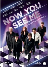 Cover Dvd Now You See Me. I maghi del crimine (DVD)