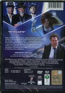 Now You See Me. I maghi del crimine di Louis Leterrier - DVD - 2