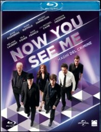 Cover Dvd Now You See Me. I maghi del crimine (Blu-ray)