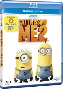 Cattivissimo Me 2 (DVD + Blu-ray) di Pierre Coffin,Chris Renaud
