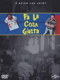 Cover Dvd Fa' la cosa giusta (DVD)