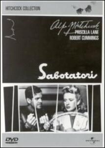 Sabotatori di Alfred Hitchcock - DVD