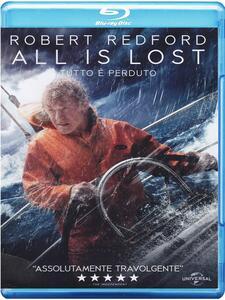 All Is Lost. Tutto è perduto di J. C. Chandor - Blu-ray