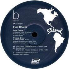 Love Thang-Double Cross - Vinile LP di First Choice