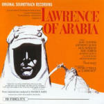 Cover della colonna sonora del film Lawrence d'Arabia