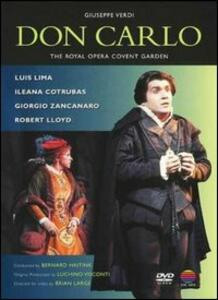 Giuseppe Verdi. Don Carlo di Luchino Visconti,Brian Large - DVD