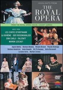Highlights From The Royal Opera Covent Garden. Selezione di arie - DVD