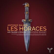 Les Horaces - CD Audio di Antonio Salieri,Christophe Rousset,Les Talens Lyriques