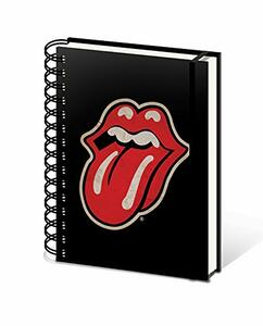Quaderno Rolling Stones (Tongue) A5 Wiro Notebook