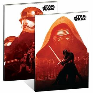 Quaderno Star Wars Ep Vii X2 A5 Exercise Books