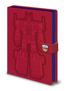 Quaderno A5 Transformers G1. Optimus Prime