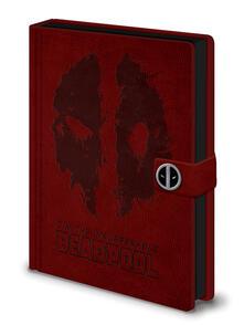 Quaderno A5 Deadpool. Splat