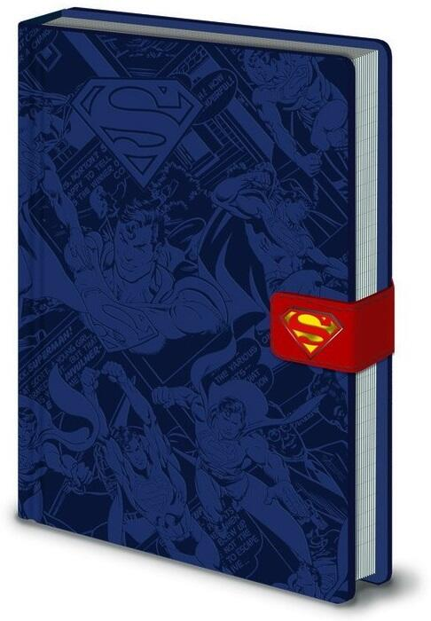 Quaderno Notebook A5 Premium Dc Originals Superman Erik