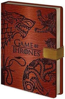 Quaderno A5 Game of Thrones (Trono di Spade) Sigils Premium Notebook