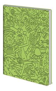Quaderno A5 Rick And Morty Portal Dash