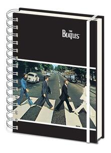 Quaderno Beatles. Abbey Road A5 Wiro Notebook