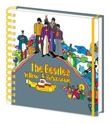 Quaderno Beatles. Yellow Submarine Square Notebook