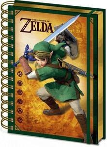 Quaderno Lenticolare 3D The Legend Of Zelda 3D Lenticular Notebook Cdu 10