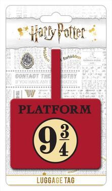 Etichetta per valigia Harry Potter Binario 9 e 3/4. Platform 9 3/4