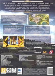 Videogioco Sid Meier's Civilization V (versione Mac) Mac OS 5