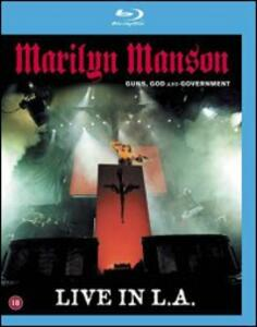 Marilyn Manson. Guns, God And Government World Tour - Blu-ray