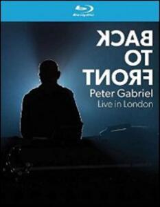 Peter Gabriel. Back to Front Live di Hamish Hamilton - Blu-ray