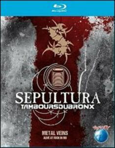 Sepultura. Tambours Du Bronx. Metal Vein. Alive At Rock In Rio - Blu-ray