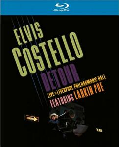 Elvis Costello. Detour. Live At Liverpool Philharmonic Hall - Blu-ray