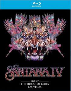 Santana. Santana IV. Live At The House Of Blues, Las Vegas - Blu-ray