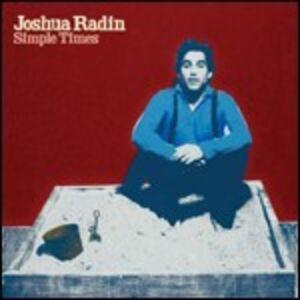 Foto Cover di Simple Times, CD di Joshua Radin, prodotto da Wea