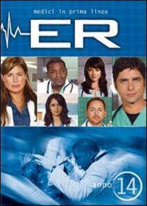 ER Medici in prima linea. Stagione 14 (3 DVD) - DVD
