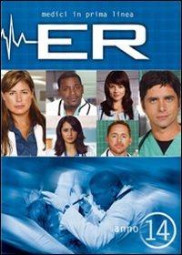 Cover Dvd ER Medici in prima linea. Stagione 14