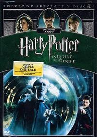 Cover Dvd Harry Potter e l'ordine della Fenice