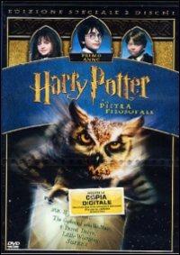 Cover Dvd Harry Potter e la pietra filosofale