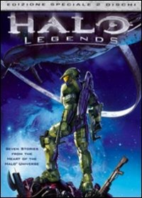 Cover Dvd Halo Legends