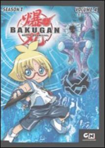 Bakugan. Stagione 1. Vol. 4 di Mitsuo Hashimoto - DVD