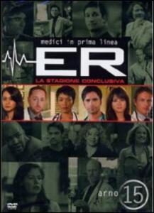 ER Medici in prima linea. Stagione 15 (3 DVD) - DVD