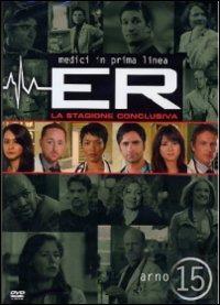 Cover Dvd ER Medici in prima linea. Stagione 15