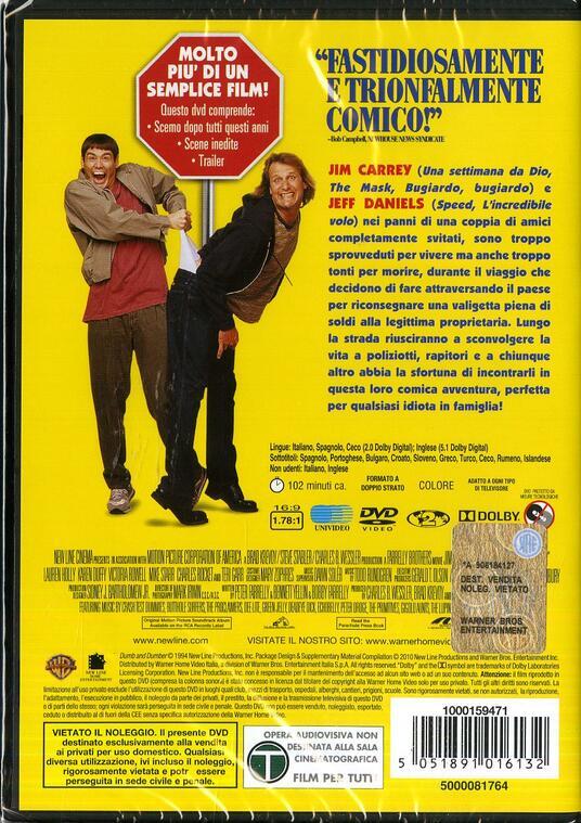 Scemo e più scemo di Peter Farrelly,Bobby Farrelly - DVD - 2