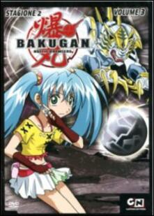 Bakugan. Stagione 2. Vol. 3 di Mitsuo Hashimoto - DVD