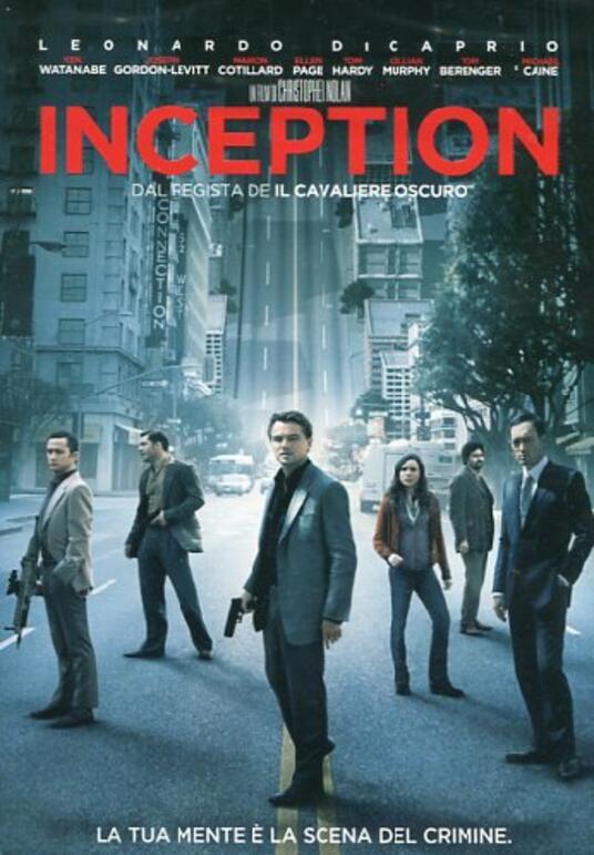 Inception di Christopher Nolan - DVD