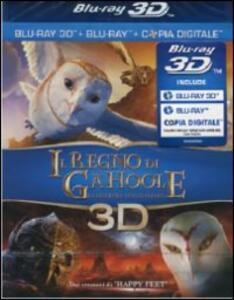 Il regno di Ga'Hoole. La leggenda dei guardiani (Blu-ray + Blu-ray 3D) di Zack Snyder