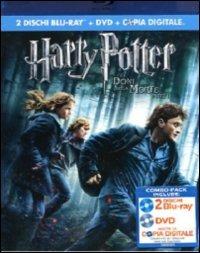 Cover Dvd Harry Potter e i doni della morte. Parte 1 (Blu-ray)